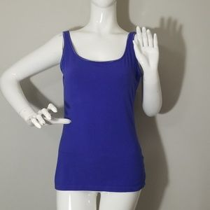 *Anne Klein* Purple tank top